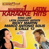 Drew's Famous #1 Latin Karaoke Hits: Sing Like Latin Grammy Artists Ricky Martin, Marco Antonio Solis & Calle 13 Songs