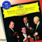 Bartók: 6 String Quartets (2 CDs) Songs
