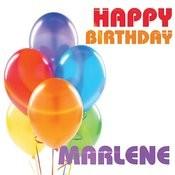 Happy Birthday Marlene Song