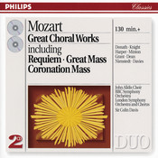 Mozart: Great Choral Works (2 CDs) Songs