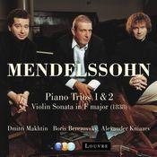 Mendelssohn : Piano Trios Nos 1, 2 & Violin Sonata [1838] Songs