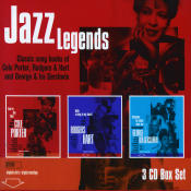 Jazz Legends Songs Of Cole Porter Rodgers Songs