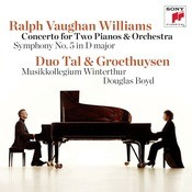 Vaughan Williams: Concerto For Two Pianos & Orchestra/Symphony No. 5 Songs