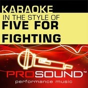 Superman (It's Not Easy) (Karaoke With Background Vocals)[In The Style Of Five For Fighting] Song