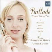Ballade - Works For Flute And Piano Songs