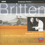 Schubert: Fantasy In F minor For Piano Duet; Grand Duo Sonata in C etc. Songs
