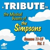 A Tribute To The Musical Guests Of The Simpsons, Seasons 11-15, Vol. 1 Songs
