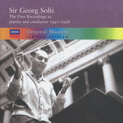 Sir Georg Solti - the first recordings as pianist and conductor, 1947-1958 (4 CDs) Songs