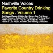 Favorite Country Drinking Songs, Vol. 1 Songs