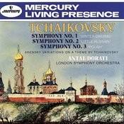 Tchaikovsky: Symphonies Nos.1-3/Arensky: Variations on a Theme by Tchaikovsky Songs