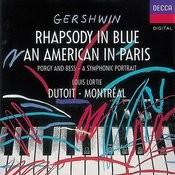 Gershwin: An American In Paris; Rhapsody in Blue Songs