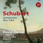 Schubert: Symphonies Nos. 3 & 4 Songs