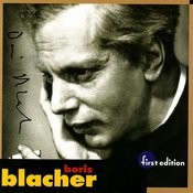 Blacher: Orchestral Variations On A Theme By Paganini, Orchestral Ornament Op. 44, Studie Im Pianissimo Op. 45, Orchester Fantas Songs