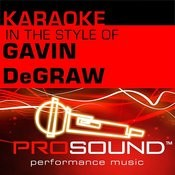 I Don't Wanna Be (Karaoke With Background Vocals)[In The Style Of Gavin Degraw] Song