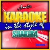 Karaoke - Shakira Vol. 1 Songs