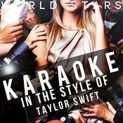 Karaoke (In The Style Of Taylor Swift) Songs