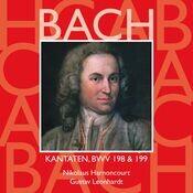 Bach, JS : Sacred Cantatas BWV Nos 198 & 199 Songs