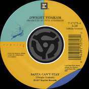 Santa Can't Stay / The Christmas Song [Chestnuts Roasting On An Open Fire] [Digital 45] (with PDF) Songs