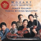 James Galway and Tokyo String Quartet Play Mozart Flute Concertos Songs