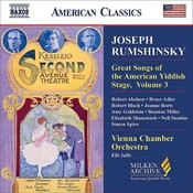 Greatest Songs of the American Yiddish Theater Vol.  3 Songs