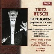 Fritz Busch (1890-1951) - Beethoven Symphony No. 9 Songs