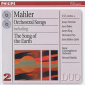 Mahler: Orchestral Songs (2 CDs) Songs