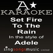 Adele - Set Fire To The Rain Songs Download: Adele - Set