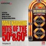 Male Karaoke Hits Of The 50s & 60s Vol. 4 Songs