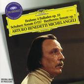 Brahms: 4 Ballades / Schubert: Sonata D537 / Beethoven: Sonata No.4 Songs