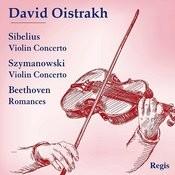 David Oistrakh Plays Sibelius And Szymanowski Songs