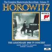 Horowitz: The Legendary Masterworks Recordings 1962-1973 Vol. IV Songs