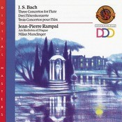 Bach: 3 Concertos for Flute Songs