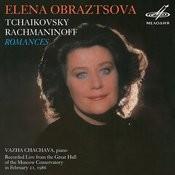 Tchaikovsky & Rachmaninoff: Romances (Live) Songs