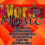 Words And Music Songs