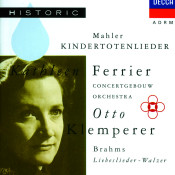 Mahler Kindertotenlieder Brahms Liebeslieder Walzer Songs
