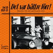 Det Var Battre Forr Volym 1b 1931 1935 Songs