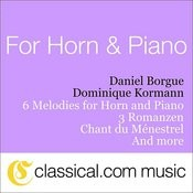 Charles Gounod, 6 Melodies For Horn And Piano Songs