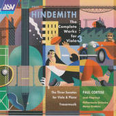 Hindemith: The Complete Works for Viola Vol.3 Songs