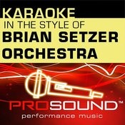 Jump Jive And Wail (Karaoke Lead Vocal Demo)[In The Style Of Brian Setzer Orchestra] Song
