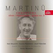 Martinu: Oboe / Harpsichord / Piano Concertos Songs