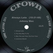 Always Late (10-21-66) Songs