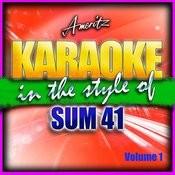 Karaoke - Sum 41 Vol. 1 Songs