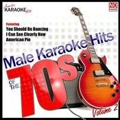 Male Karaoke Hits Of The 70's Vol. 2 Songs