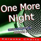 One More Night (Originally Performed By Maroon 5) [Karaoke Version] Song