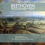 Beethoven: Symphonies Nos. 1 & 2 Songs