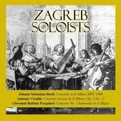 Johann Sebastian Bach: Concerto In D Minor Bwv 1060 / Antonio Vivaldi: Concerto Grosso In D Minor, Op. 3 No. 11 / Giovanni Battista Pergolesi: Concerto No. 1 Harmonic In G Major Songs