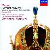 Mozart: Coronation Mass; Vesperae solennes de confessore Songs