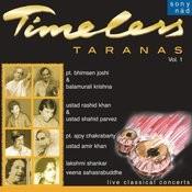 Timeless Taranas, Vol. 1 Songs