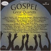 Gospel Sung By The Great Quartets - Vol 2 Songs