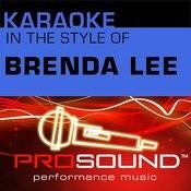 I'm Sorry (Karaoke Instrumental Track)[In The Style Of Brenda Lee] Song